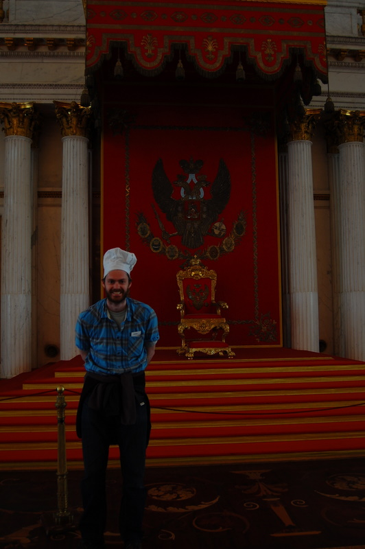 Chef's Hat - Chef's throne in St Petersburg