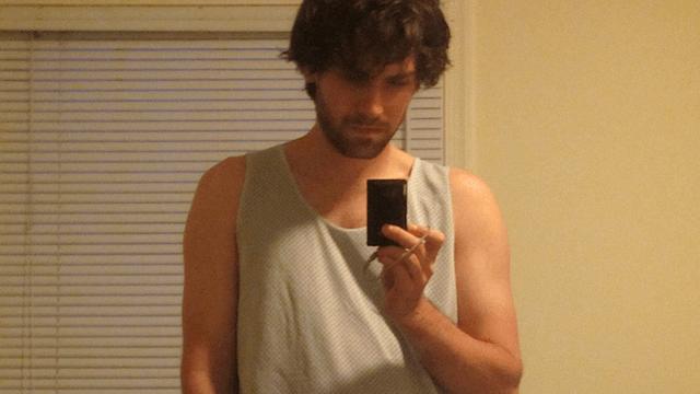 adam selfie august 2013 sharper
