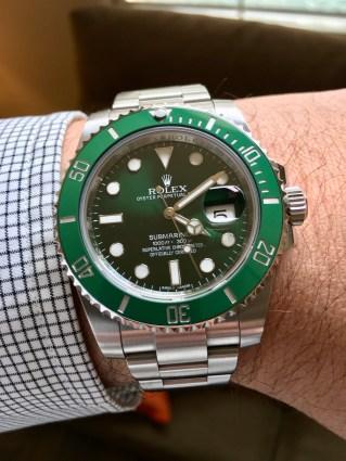 """Rolex Submariner """"Hulk"""" IW387805 © 2017 Adam Brown"""