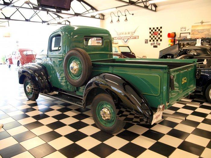 Wiring Harness Restoration 1946 Ford Pickup Adamco Motorsports