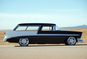 1956 Chevrolet Nomad Custom  ADAMCO MOTORSPORTS