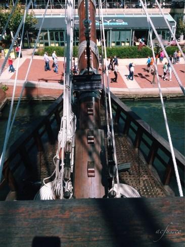 Aboard El Galeon