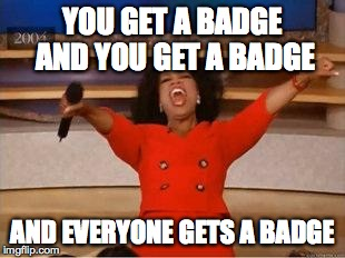 CTE Badge Rules