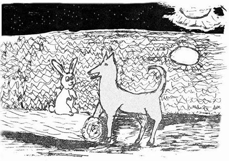 El cuento del conejo y el coyote (1/4)