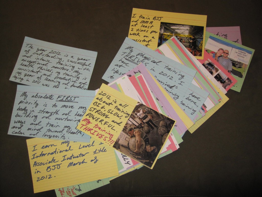 Image result for goal setting index cards