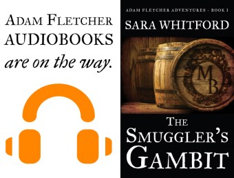 Adam Fletcher audiobooks are on the way