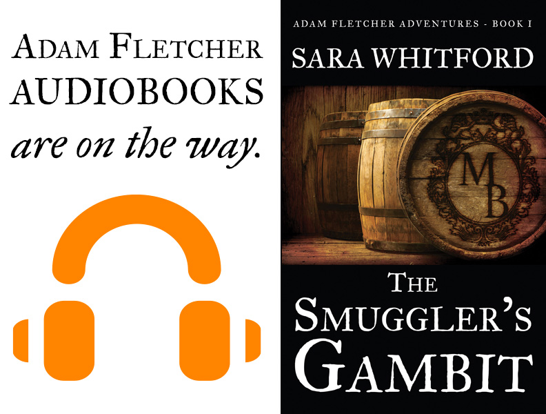 Planning for Adam Fletcher audiobooks is now underway
