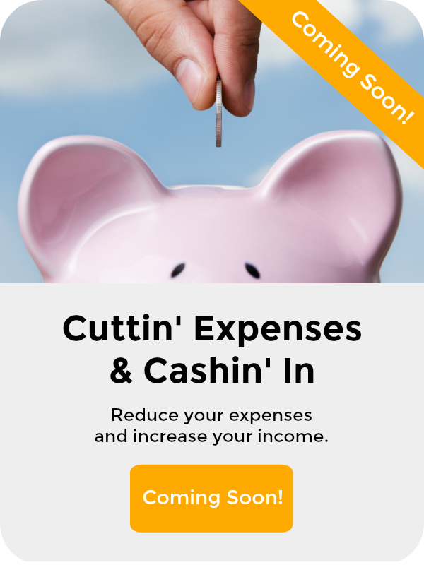 Course Notice Coming Soon - Cut Expense