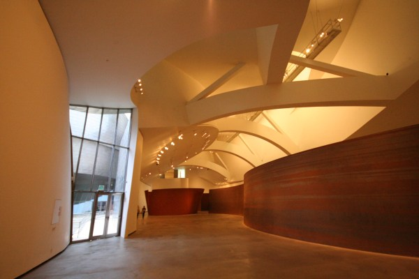 Frank Gehry Guggenheim Museum Bilbao Interior