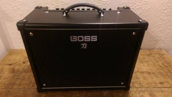 BOSS Katana 50 Guitar Amplifier Review - The Blogging Musician