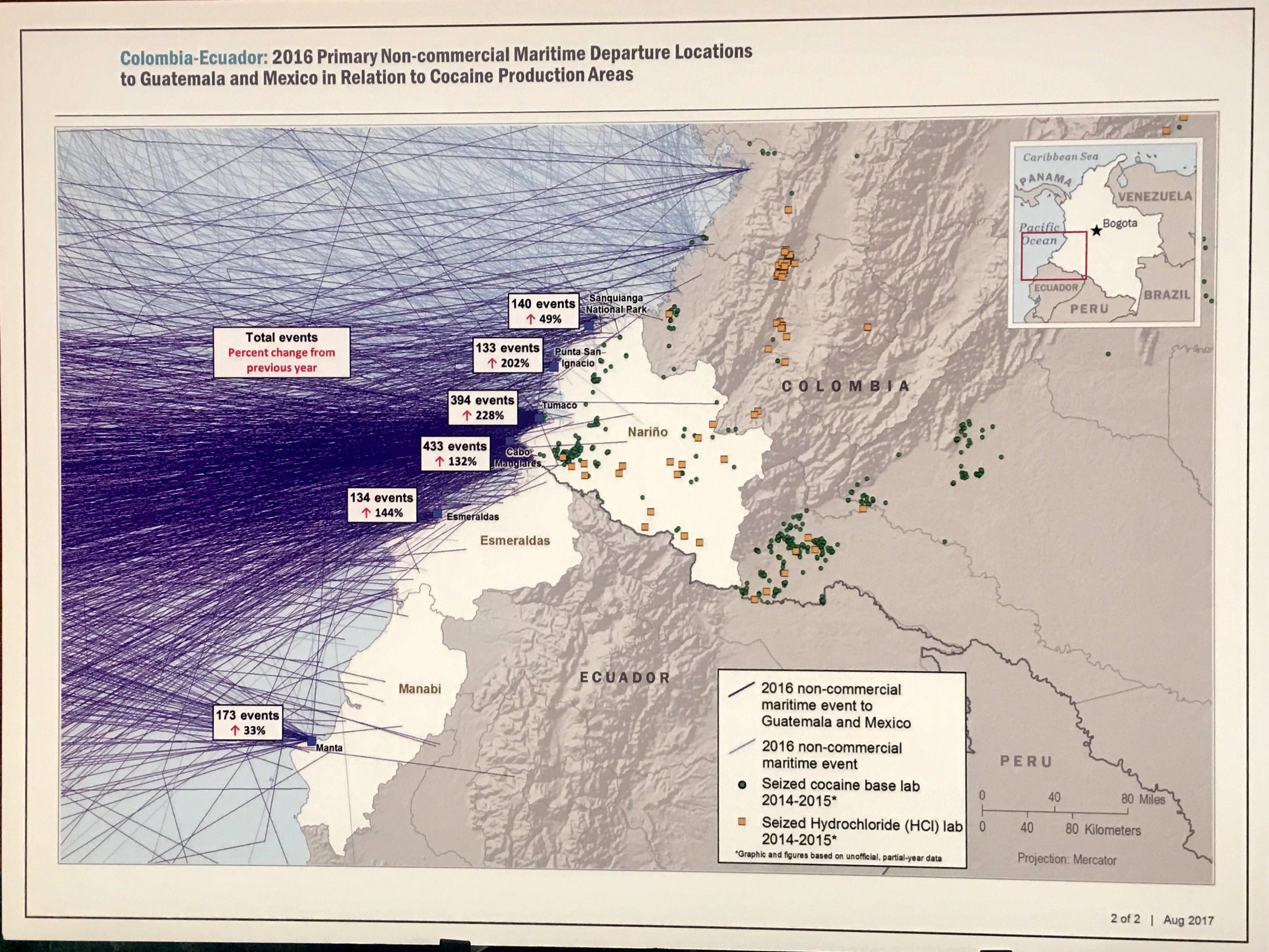 Maps 2016.2016 Suspect Trafficking Maps Adam Isacson Adam Isacson