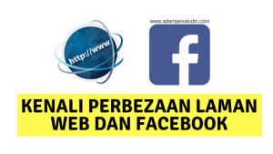 laman web dan facebook