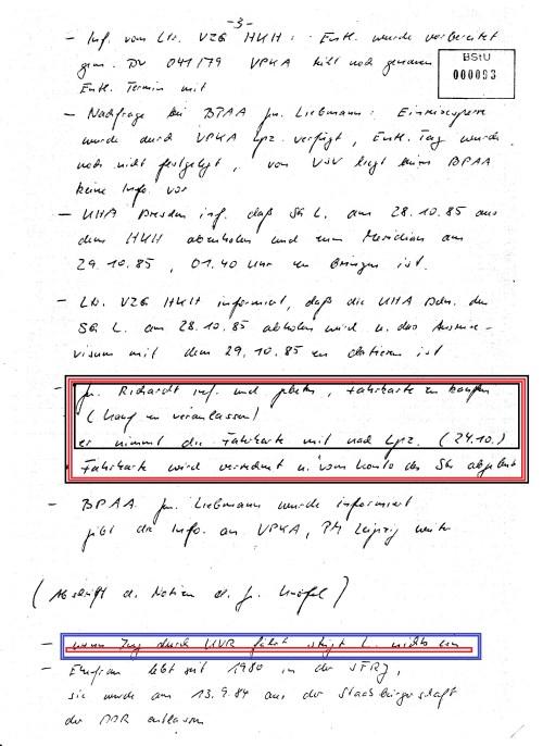 In der Nacht nach der vorzeitigen Entlassung 28./29.10.1985 setzte man mich in den MERIDIANEXPRESS und schickte mich durch Tschechei und Ungarn auf Reise ohne Ankunft...