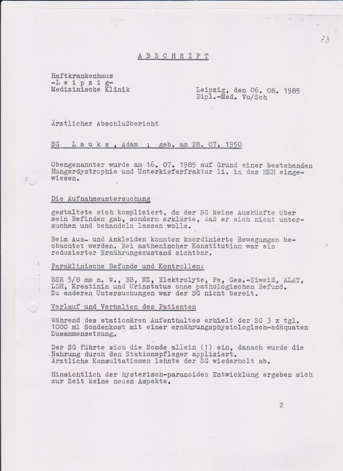 Sein Kuckucksnest im Dachgeschoss von Leipzig Meusdorf war Alkoholentziehungskur
