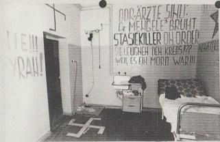 """Das Original -Dezember 1984 in der """"Ausändersuite"""" im Haftkrankenhaus Leipzig-Meusdorf"""