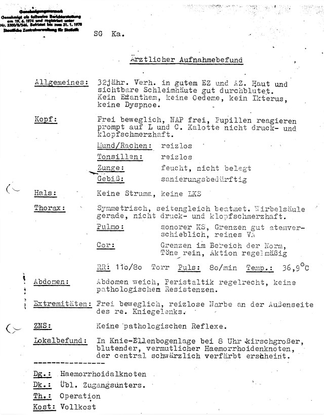Zersetzung von Adam Lauks 1982.09.10.2