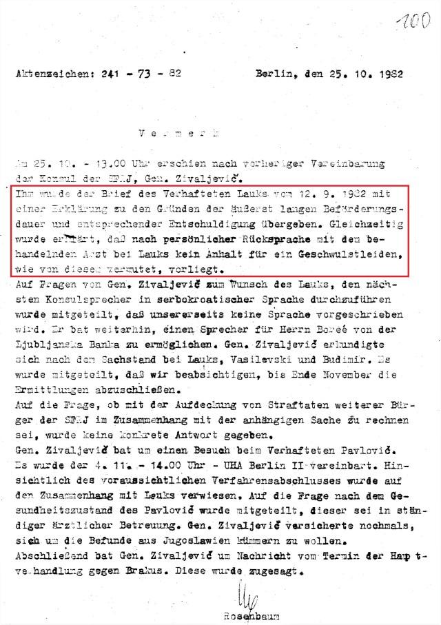 Zersetzung von Adam Lauks 1982.10.25.