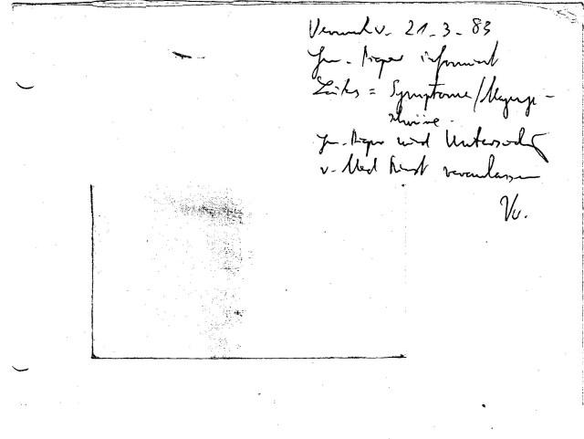 Zersetzung von Adam Lauks 1983.03.21.