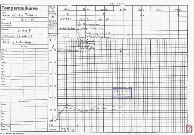 Zersetzung von Adam Lauks 1983.04.08.1