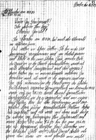 Zersetzung von Adam Lauks 1983.05.16.1