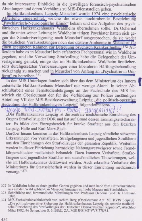 """""""lükenhafte Aktenlage"""" um IME Georg Husfeld deutet auf seiune hohe Bedeutung für MfS"""