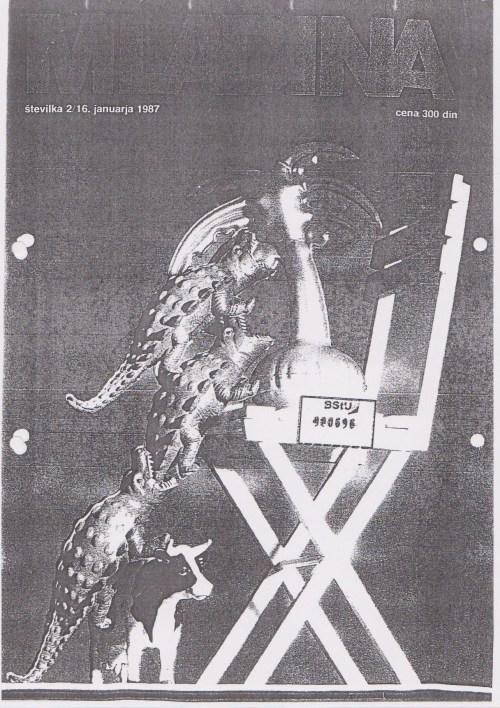 Was SPIEGEL im April 1986 unterschlug druckte MLADINA im Januar 1987