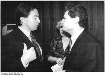Wann kommt der Vorschlag für ein Denkmal: Diestel und Gauck !?