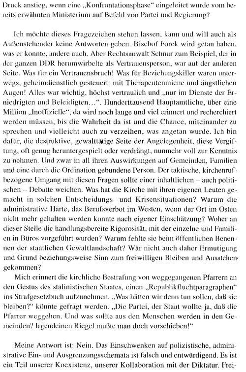 Die Situation der EKD in der DDR und ihre Spaltung aus der Sicht der Zeitgenossen