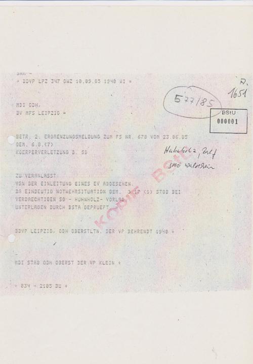 Es mag unfassbar sein weil es wahr ist... Gauck schützt STASI - Verbrecher am 5.7.