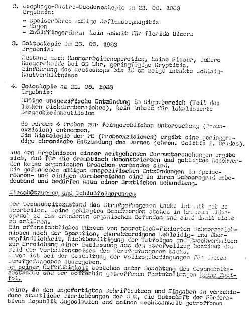 Die Aufpfählung die Erste vom 28.2.1983 findet keine Erwähnung !