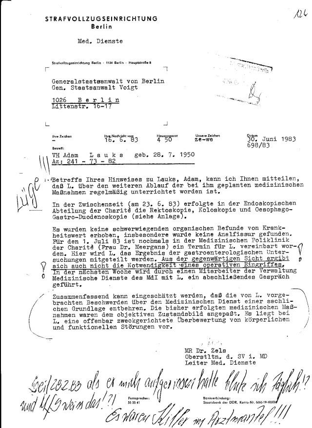 MajorvRadtke warein Psychopat... aber IMS NAGEL war der Typ Mengeles. Diese Rolle zu spielen, hätte er nicht mal in die Mask gemusst, nur das Hochheitszeichen an der Mütze mit Totenkopf ersetzen und die SS Runnen ans Rever... NAZI-Arzt !!!