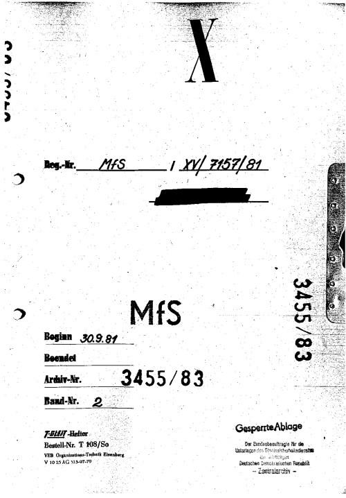 Noch weiß die HV IX nicht dass OV MERKUR ins Leben gerufen wurde oder  bemüht sich die Gauck Behörde den  Desaster des MFS unkenntlich zu machen, zu verschleiern !?