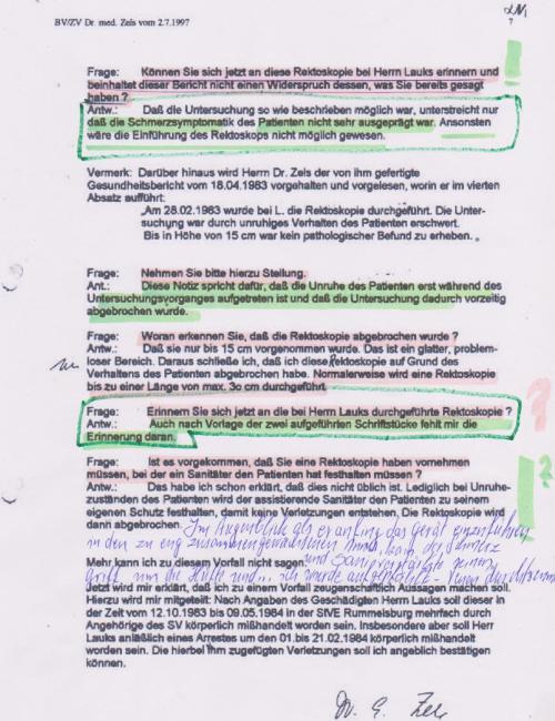 Zur Geheimhaltung über die Vorgänge hatte sich IM NAGEL mit seiner UNterschrift im Dezember 1972 verpflichtet.