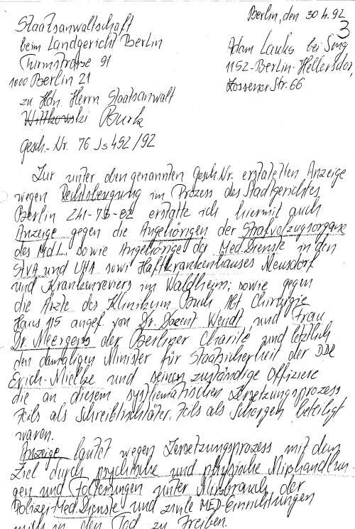 30 Js 1792 93 Ermittlungsverfahren der Staatsanwaltschaft II Bln 003