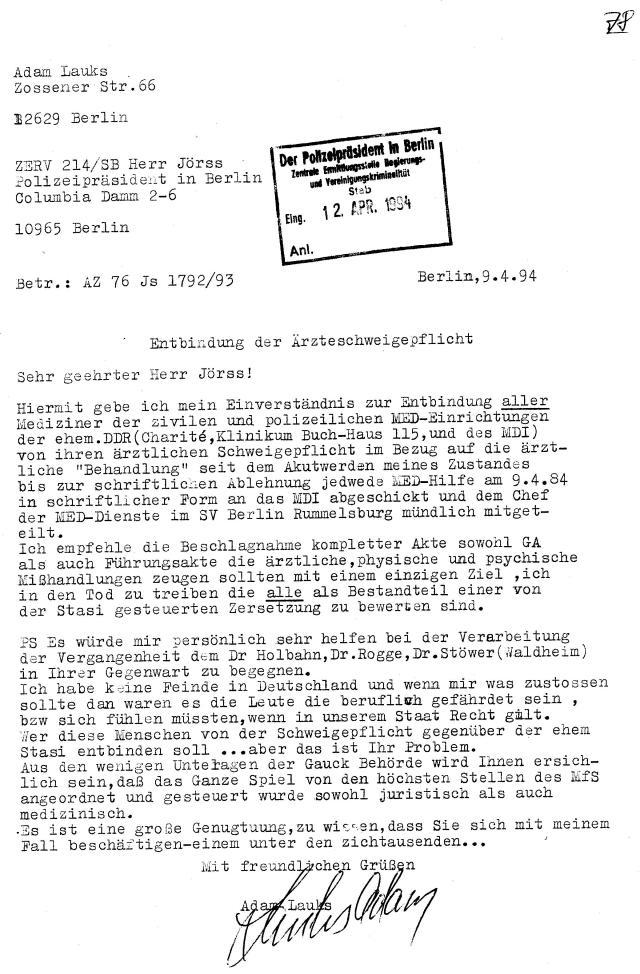 30 Js 1792 93 Ermittlungsverfahren der Staatsanwaltschaft II Bln 028