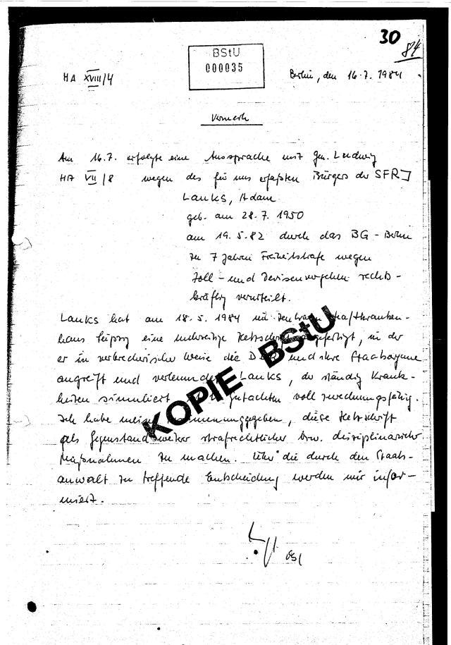 30 Js 1792 93 Ermittlungsverfahren der Staatsanwaltschaft II Bln 036