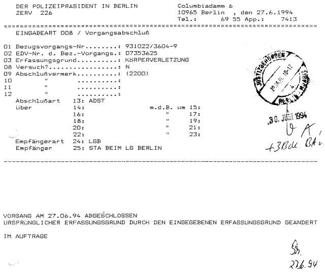 30 Js 1792 93 Ermittlungsverfahren der Staatsanwaltschaft II Bln 043