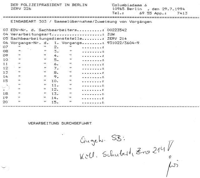 30 Js 1792 93 Ermittlungsverfahren der Staatsanwaltschaft II Bln 052