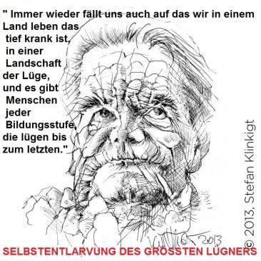 Der größte Lügner der DDR wurde mit Gesachiuchtsfälschung und Täterschutz beauftragt ... von der STASI.