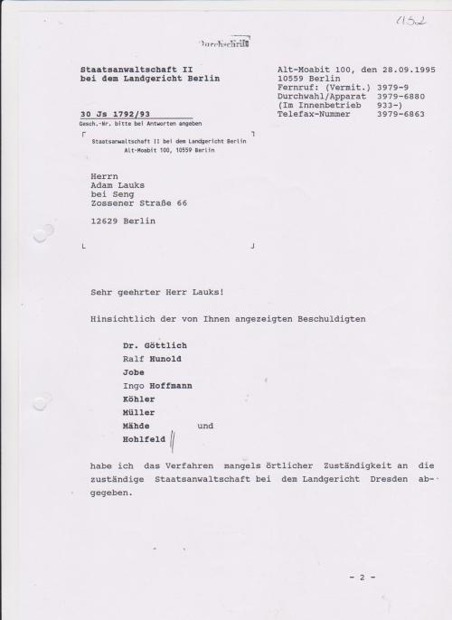 Generalstaatsanwaltschaft unterdrückt Beweise für Kieferbruch 008