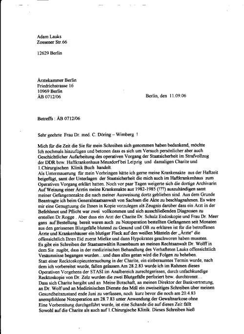 """Ich """"bedankte"""" mich, für die Mühe... Dr. Zels  in der Plauener Strasse 26  durfte seine  Genossen aus der obersten Leitungsebene  der Partei, der NVA, des MfS und der Polizei  nun im Feindesland für harte Währung als Privatpatienten betreuen."""