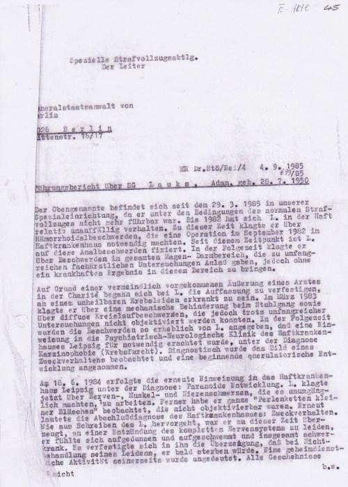 Spezielle Strafvollzug Waldheim  lag nicht auf derReiserute nach Jugoslawien..