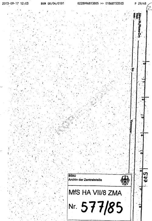 Unterschlagene Mappe mit Beweisen für Schwere Körperverletzung in der Speziellen Strafvollzugsabteilung Waldheim
