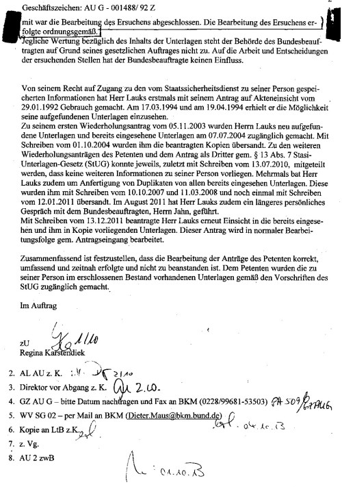 Welche ehrlichkeit erwartet man von einem DDR Kommunisten und einem aus dem Westen im Bezug auf die Wahrheit !??