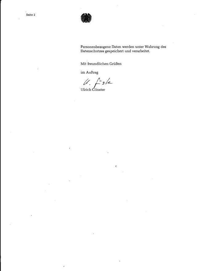 Mit PETITIONSAUSSCHUSS ich habe fertig ! Bereits Wolfgang Dierig wurde ermahnt dass  weitere Schreiben aus dem Petitionsausschuss  ich als Belästigung empfinde !