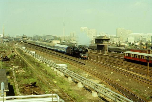 MERIDIAN EXPRESS fuhr auch am 29.10.1985