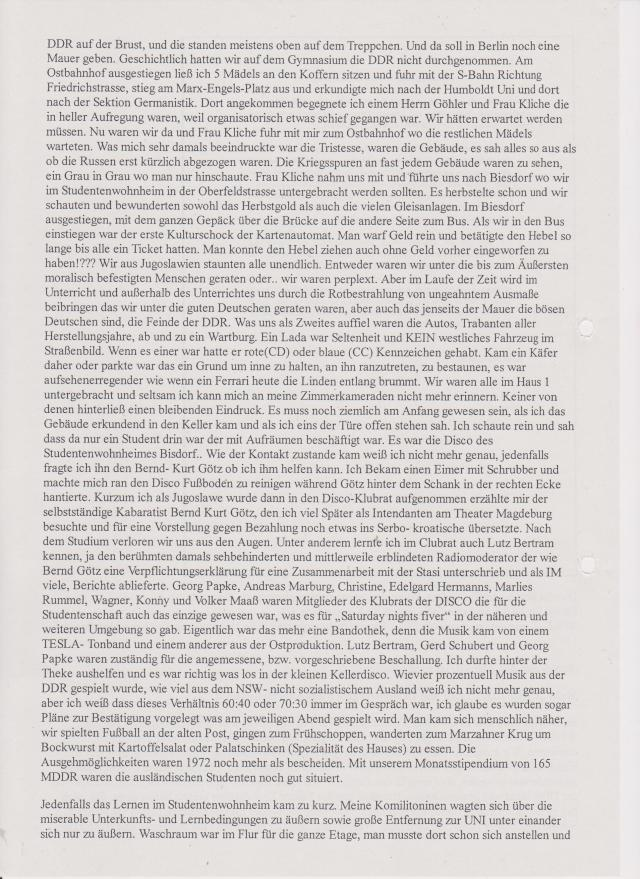 Ich hatte schon 2009 angefangen  mein Manuskript zu schreiben und wurde verhindert  mit einem Richterbeschluss des Landgerichtes Berlin...