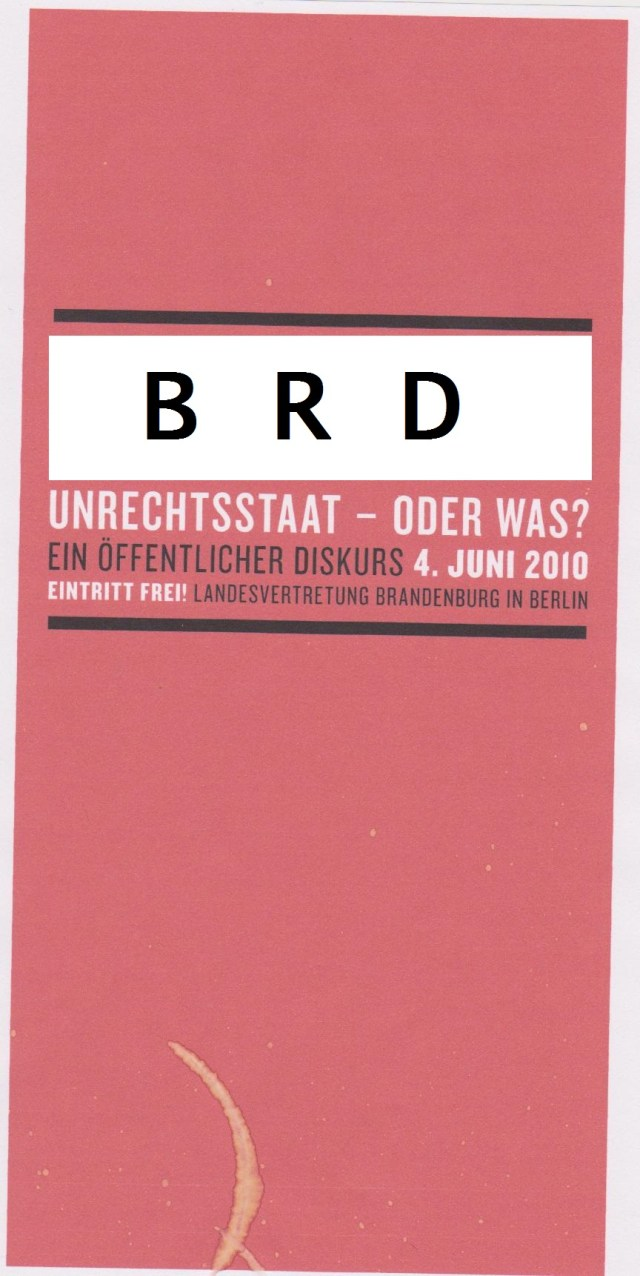 DDR ein Unrechtsstaat oder was !