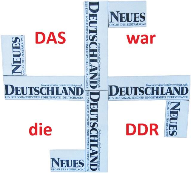 Neues Deutschland Hakenkreuz