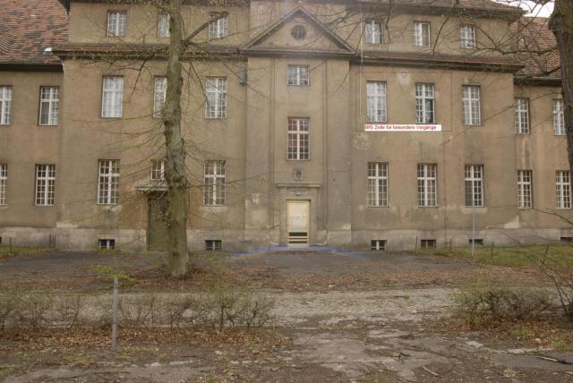 Haus 115 Berlin Buch - I Chirurgische Klinik  stand zur besonderen Verwendung des MfS